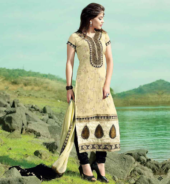 STYLISH KAMEEZ NECK DESIGNS PARTY WEAR DRESSES 2015 SURAT ONLINE