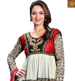 Esha Deol Ankle Lenght Anarkali Dress