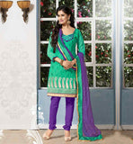 OFFICE WEAR SALWAR KAMEEZ DRESS WITH GOOD-LOOKING NECK PATTERNS