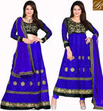 EVER STYLISH 2 IN 1 PARTY WEAR SUIT OR LEHENGA 2 IN 1 DRESS LONG CHOLI LENGHA AND SALWAR KAMEEZ