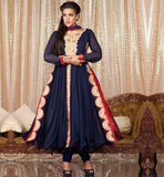 ROYAL LOOK PARTY WEAR ANARKALI SALWAR KAMEEZ DRESS WITH DUPATTA