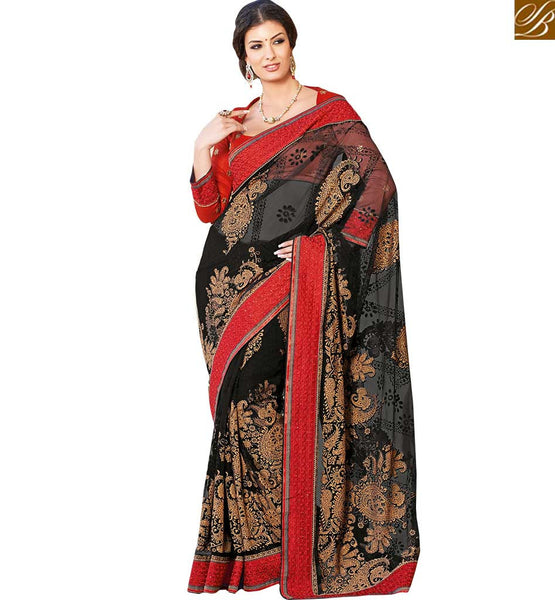 BROUGHT TO YOU BY STYLISH BAZAAR WELL DESIGNED ALL OCCASION WEAR SARI BLOUSE DESIGN RTHTS6005
