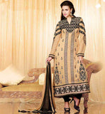 STUNNING DIVA STYLE PARTY WEAR SALWAR KAMEEZ WITH SHADED DUPATTA