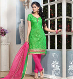 EVERSTYLISH OFFICE WEAR COTTON SALWAR KAMEEZ DRESS WITH DUPATTA