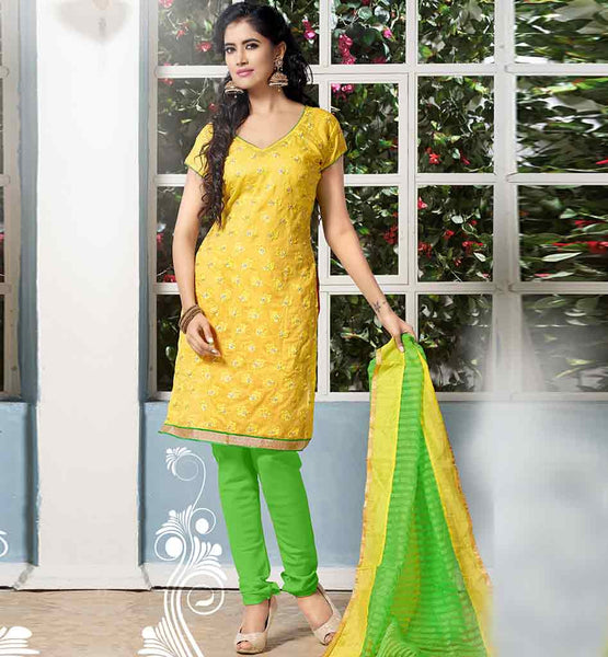 BUY LATEST COLLECTION COTTON SALWAR KAMEEZ DUPATTA FOR OFFICE WEAR