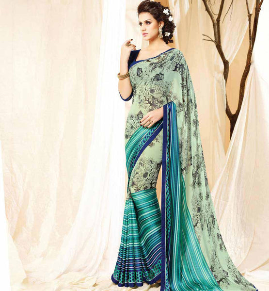 EASY SHOPPING SIMPLE CASUAL SAREE PATTERN ART SILK BLOUSE MATERIAL