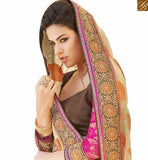 STYLISH BAZAAR PRESENTS FASCINATING DESIGNER SARI FOR PARTIES RTHTS6011