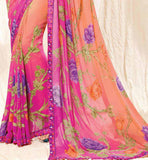 Indian Designer casual wear Saree Online Shopping Stylish Bazaar