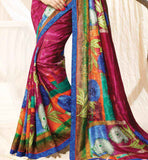 Georgette sari for office and casual wear