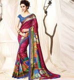 BEAUTIFUL INDIAN ETHNIC DESIGNED OFFICE WEAR SAREE ONLINE SHOPPING