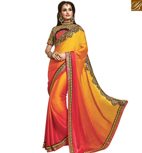 STYLISH BAZAAR CHARMING DESIGNER INDIAN SARI ONLINE SHOPPING RTMYS6024