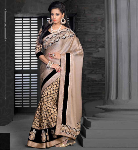 DESIGNER SARI ONLINE SHOPPING INDIA PRINTED SATIN CHIFFON WITH BLOUSE stylish bazaar