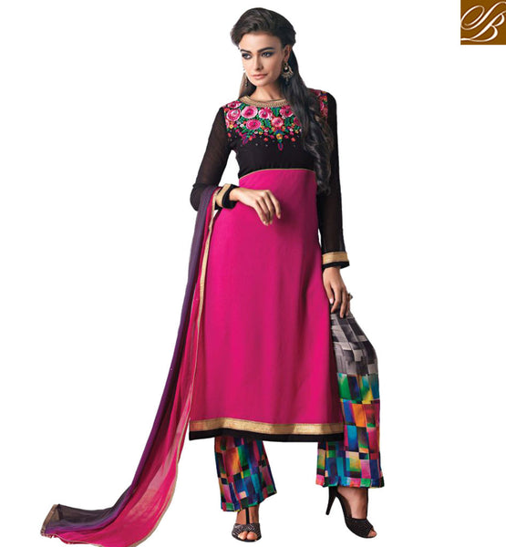 FROM STYLISH BAZAAR DELIGHTFUL FLOOR LENGTH SALWAAR SUIT FOR SPECIAL OCCASIONS KMSH6031