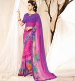 TRENDSETTING BRANDED DESIGNER SARI BLOUSE COMBO AT A BARGAIN RATE
