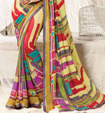 STYLISH BAZAAR SAREE FOR CASUAL AND OFFICE WEAR