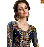 STYLISH BAZAAR INTRODUCES GOOD-LOOKING DESIGNER INDIAN ONLINE SHOPPING SAREE BLOUSE RTMYS6039