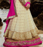 EXCITING CREAM ANARKALI KMV6604 KIMORA 6 604 | STYLISHBAZAAR