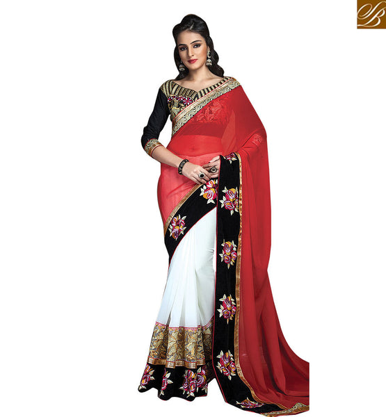 STYLISH BAZAAR EMBROIDERED SARI BLOUSE DESIGN FOR AN APPEALING LOOK RTCRM6053