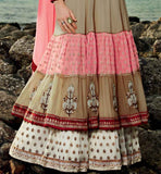 COOL OFF-WHITE ANARKALI KMV6606 KIMORA 6 606 | STYLISHBAZAAR