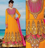 DOUBLE LAYERED ANARKALI KMV6609 KIMORA 6 609| STYLISHBAZAAR