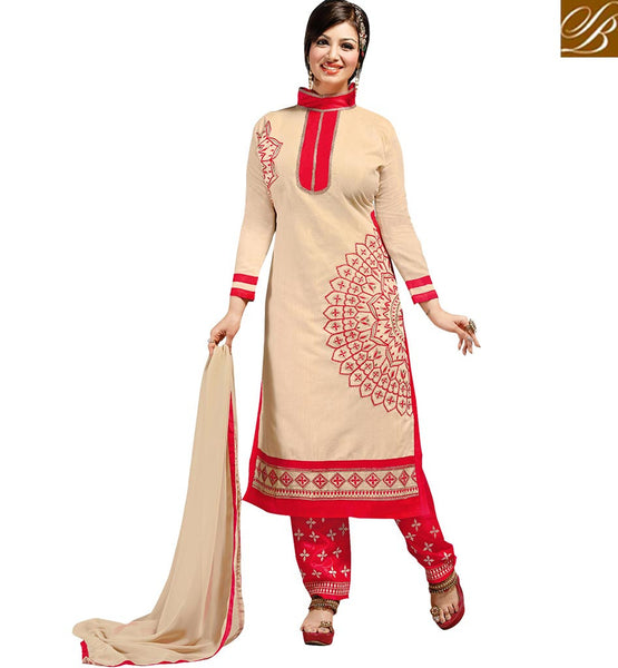 FROM THE HOUSE OF STYLISH BAZAAR STARLET AYESHA TAKIA IN PREMIUM STRAIGHT CUT SALWAAR SUIT VDAYE6102