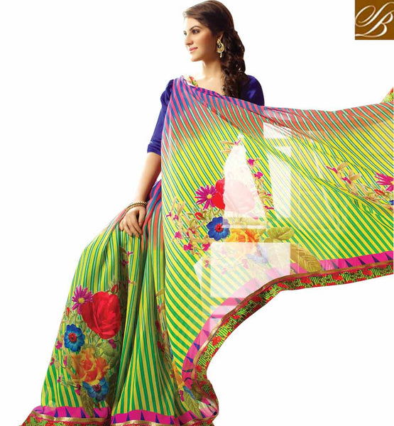 BLOUSE MODELS SAREES ONLINE SHOPPING INDIA FREE CASH ON DELIVERY. LATEST FASHION STRAIGHT FROM SURAT PRINTED SAREE WITH BLOUSE