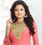 62001 TELEVISION CELEBRITY DRASHTI DHAMI AKA MADHUBALA NEW DESIGN DRESS