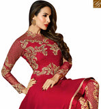 BROUGHT TO YOU BY STYLISH BAZAAR BOLLYWOOD ACTRESS MALAIKA ARORA KHAN MARVELOUS MAROON PARTY WEAR SALWAAR SUIT GLMAK6208