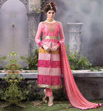 NEW FASHION PUNJABI SALWAR KAMEEZ SUITS FOR WOMEN FINE NECKLINE WITH DETAILED THREAD WORK AND STONE WORK AND LACE AT HEMLINE