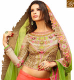 IRRESISTIBLE BRIDAL LEHENGA CHOLI WITH BEAUTIFUL WORK