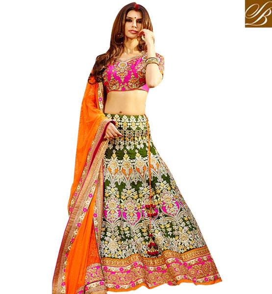 EVER STYLISH WEDDING SUITS FOR WOMEN BRIDAL LEHENGA CHOLI ONLINE