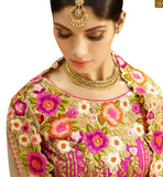 FROM STYLISH BAZAAR ELOQUENT HEAVILY EMBROIDERED 3 PIECE BRIDAL LEHENGA CHOLI RTHYD6800