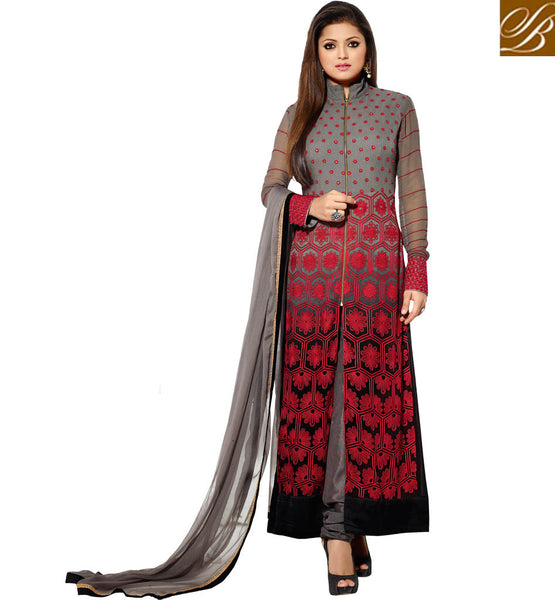 MADHUBALA DRASHTI DHAMI EXCELLENT SHADED PARTY WEAR SALWAR KAMEEZ
