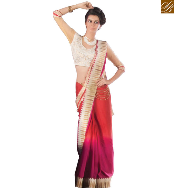 BROUGHT TO YOU BY STYLISH BAZAAR FASHIONABLE LATEST DESIGN SAREE AND BLOUSE VDCLA6954