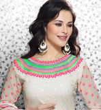 Indian party wear gerogette salwar kameez online shopping uk