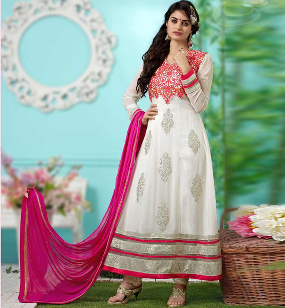 BUY ONLINE INDIAN DESIGNER PARTY WEAR ANARKALI SALWAR KAMEEZ