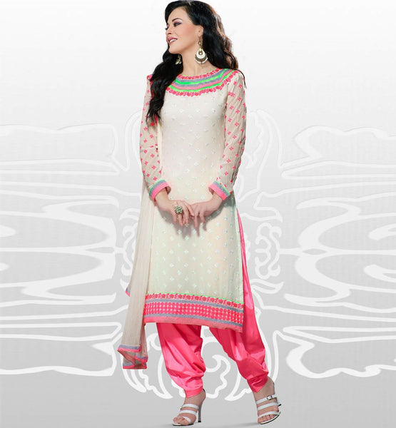 Indian party wear gerogette salwar kameez online uk