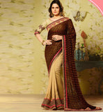 ONLINE BUYING NEWEST TREND WOMEN'S PARTY WEAR ZARINE KHAN SAREE