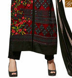 THIS EXCITING DRESS HAS SUPERB CAMOUFLAGE STONEWORK, THREAD WORK AND STUNNING MULTICOLORED EMBROIDERY WORK BOLLYWOOD SALWAR KAMEEZ SUIT SHOP ONLINE INDIA