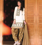 STYLISH BAZAAR MODERN FASHION PATIALA SALWAR KAMEEZ WITH DUPATTA