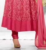 LATEST FASHION BOLLYWOOD SALWAR KAMEEZ DESIGNS THIS NET ANARAKALI SUIT HAS RICH EMBROIDERY WORK ALL OVER