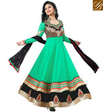 COOL GREEN ANARKALI SALWAR KAMEEZ NZ47001