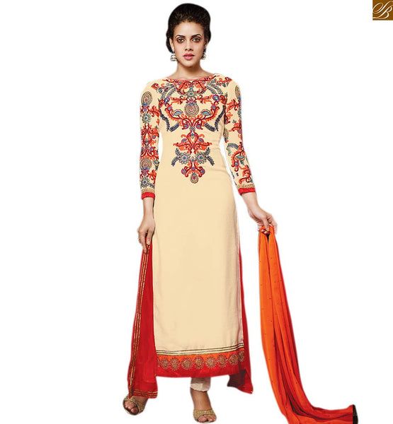 NECK DESIGNS FOR SALWAR KAMEEZ WITH STYLISH LONG SLEEVES