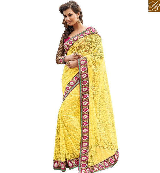 EXCEPTIONALLY WELL DESIGNED SAREE FOR ALL OCCASIONS RTHTS7004