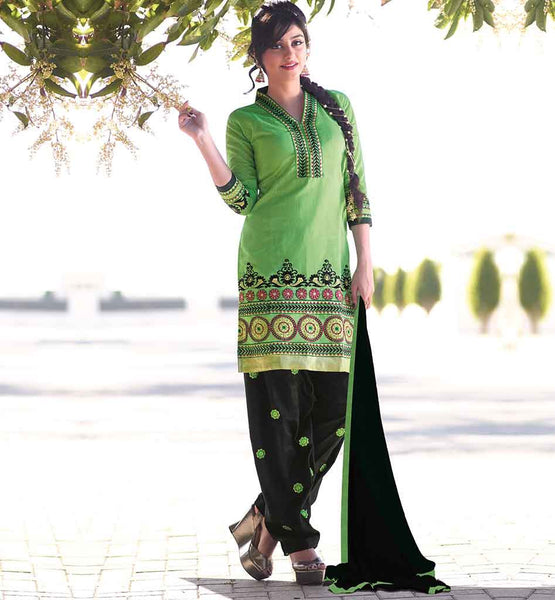 OFFERING NEW MODERNIZE EMBROIDERY PATIALA SALWAR KAMEEZ SUITS