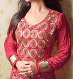 DESIGNER HEAVY EMBROIDERED SALWAR SUIT ONLINE SHOPPING STYLISHBAZAAR