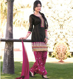 OUTSTANDING PUNJABI PATIALA SALWAR KAMEEZ  FOR COMFORTABLE WEARING