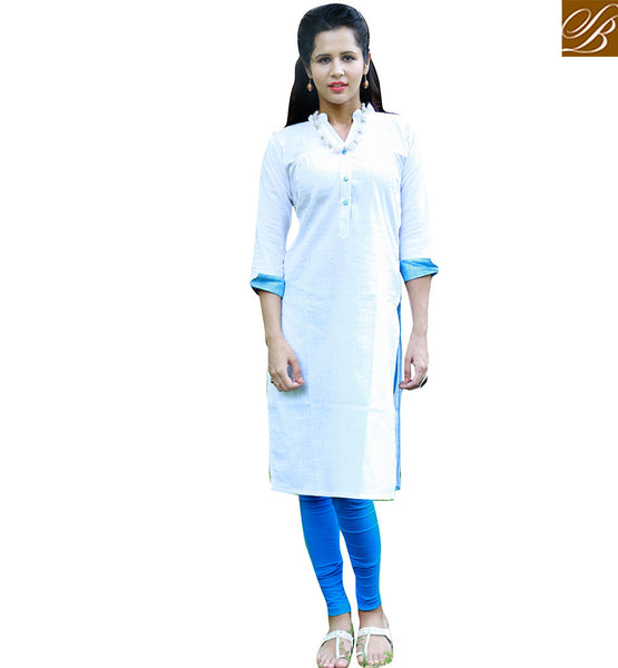 STYLISH BAZAAR OUTSTANDING KURTI DESIGN TAILOR MADE FOR PARTIES VDSUH7012
