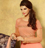 LIGHT PEACH PARTY WEAR SALWAR SUIT VDFL7016