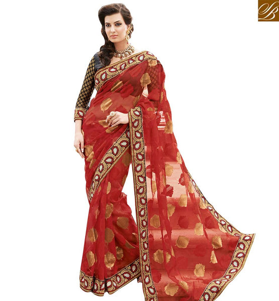 STYLISH BAZAAR INTRODUCES TRENDY SAREE BLOUSE DESIGN FOR SPECIAL EVENTS RTHTS7017
